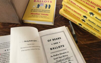 An Invite to Of Bears and Ballots Chats in Seattle and Homer